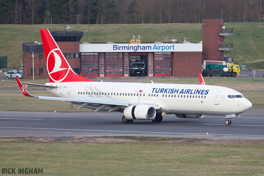 Boeing 737-8F2(WL) - TC-JHV - Turkish Airlines