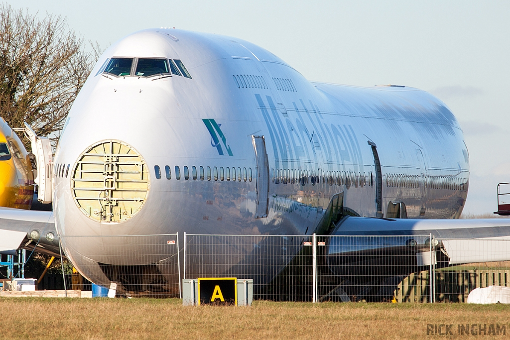 Boeing 747-312 - TF-AME - Med-View
