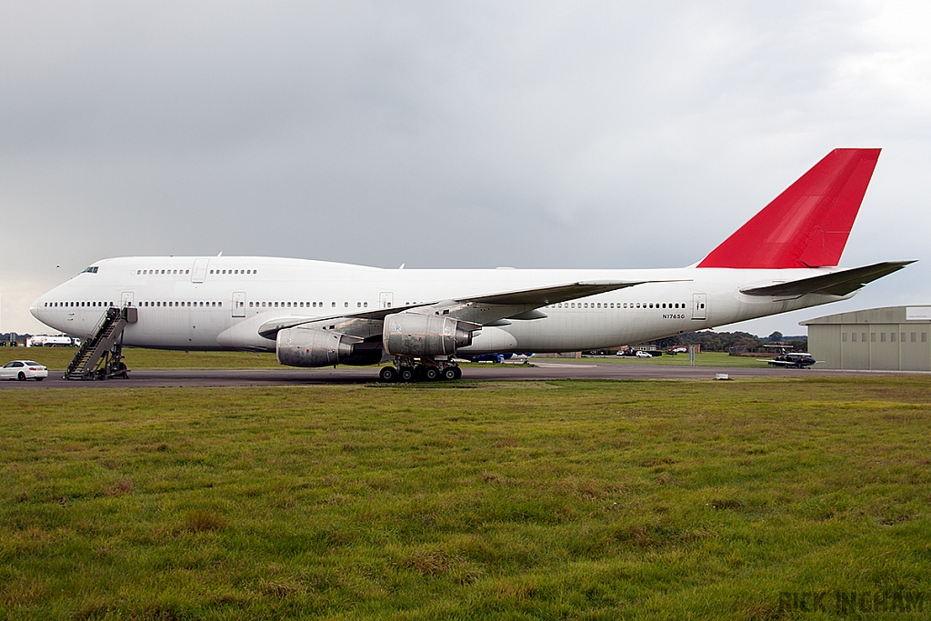 Boeing 747-338 - N176SG - Ex Qantas Airways