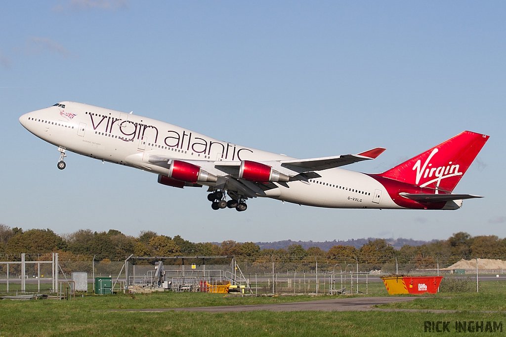 Boeing 747-443 - G-VXLG - Virgin Atlantic