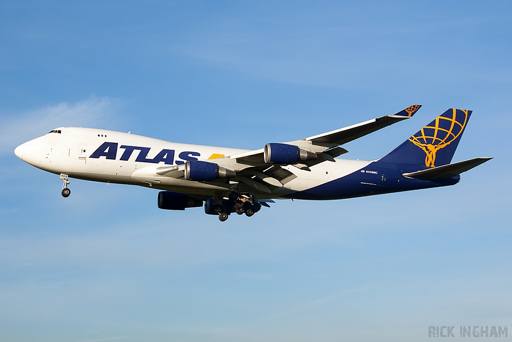 Boeing 747-47UF - N409MC - Atlas Air
