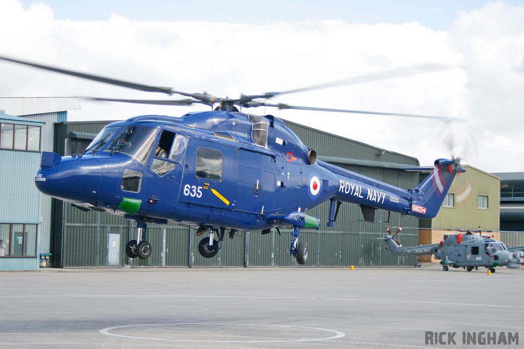 Westland Lynx HAS3 - XZ233/635 - Royal Navy