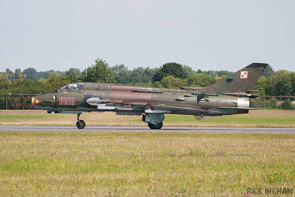 Sukhoi Su-22M4 Fitter - 9616 - Polish Air Force