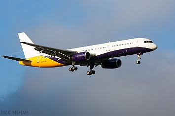 Boeing 757-2T7 - G-DAJB - Ex Monarch Airlines