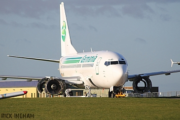 Boeing 737-35B - D-AGEE - Ex Germania