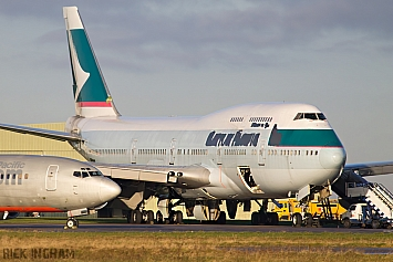 Boeing 747-467 - B-HOT - Cathay Pacific