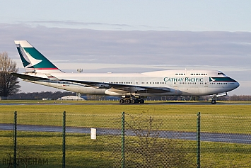 Boeing 747-467 - B-HOX - Cathay Pacific