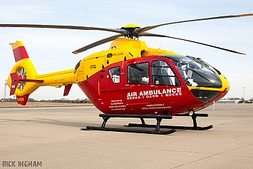 Eurocopter EC135 T2 - G-HBOB - Thames Valley & Chiltern Air Ambulance