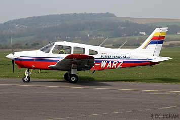 Piper PA-28-161 Warrior III - G-WARZ - Sussex Flying Club